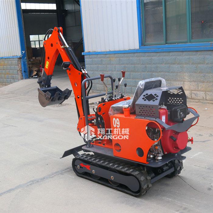 XG09型履带式挖掘机