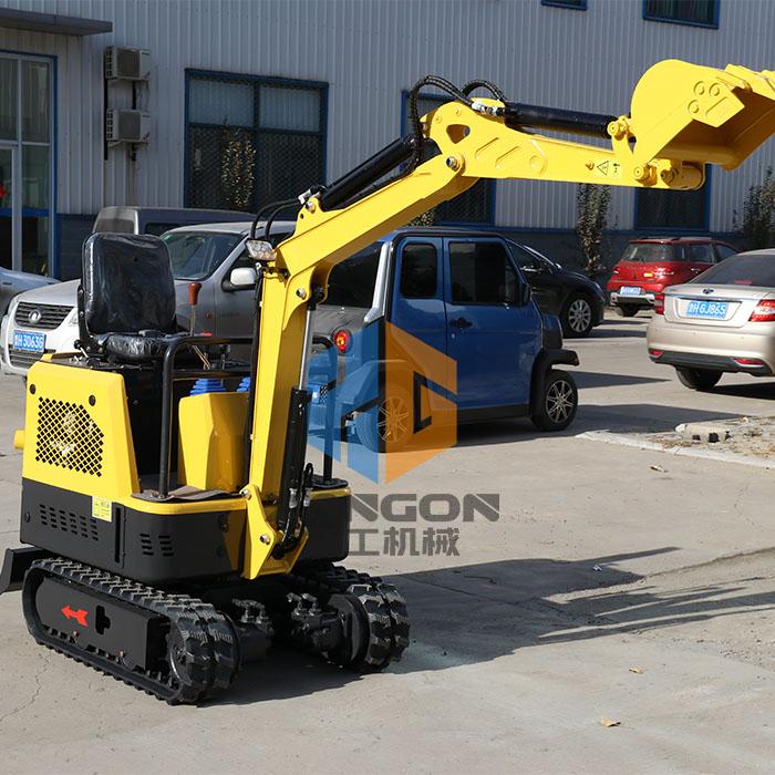 XG8015小型挖掘机实操指导