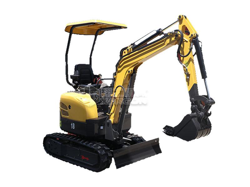 XG8018履带式小型挖掘机
